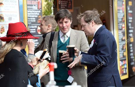 the Cheltenham Festival Ladies Day at Cheltenham Racecourse Harry Lopes & Tom Parker Bowles