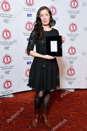 the Critics' Circle Theatre Awards at the Prince of Wales Theatre Anna Fleischle (best Designer 'Hangmen')