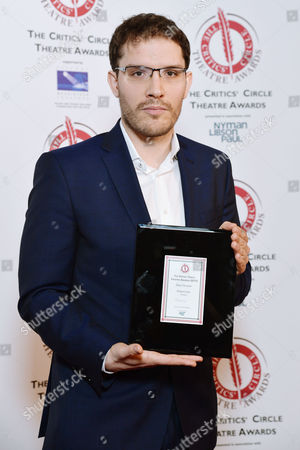the Critics' Circle Theatre Awards at the Prince of Wales Theatre Robert Icke (best Director 'Oresteia')