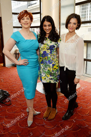 the Critics' Circle Theatre Awards at the Prince of Wales Theatre Sophie-louise Dann Natalie Dew Lauren Samuels - Bend It Like Beckham
