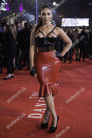 the Danish Girl Uk Premiere at Odeon Leicester Square Sofia Hayat