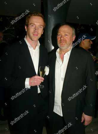 Launch of the End of Summer Ball in Berkeley Square Cocktail Party at Nubu Berkeley Street London Damian Lewis & Vince Power