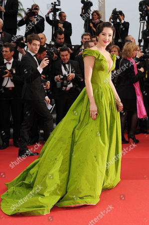 Opening Night Gala and 'The Great Gatsby' Red Carpet at the Palais Des Festivals During the 66th Cannes Film Festival