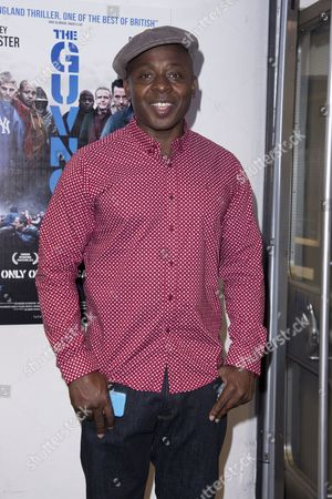 Stock Photo of the Guvnors Uk Premiere at the Odeon Covent Garden Vas Blackwood
