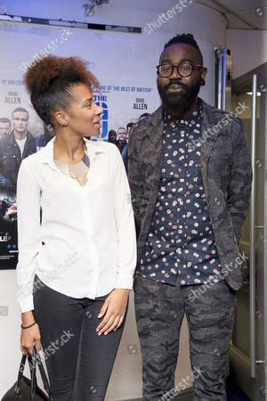 the Guvnors Uk Premiere at the Odeon Covent Garden Mikill Pane