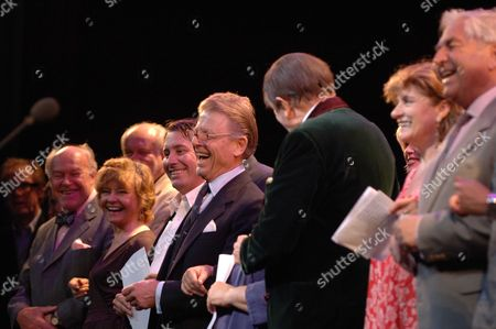 The John Betjeman Royal Gala at the Prince of Wales Theatre Coventry Street London Tim West Prunella Scales Jules Holland Edward Fox Barry Humphries Nick Cave Diana Quick Peter Baldwin
