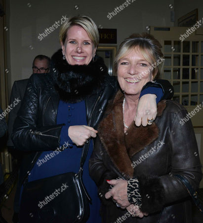 'The Judas Kiss' Press Night at the Duke of York's Theatre St Martins Lane - After Show Drinks in the Theatre Fiona Fox (wife of Robert Fox) and Celestia Fox (ex Wife of Robert Fox)