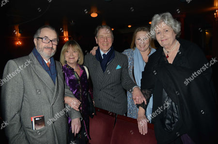 'The Judas Kiss' Press Night at the Duke of York's Theatre St Martins Lane - After Show Drinks in the Theatre David Mcalpine Joanna David with Husband Edward Fox Lucy Fox and Rupert Everett's Mother Sara Mclean Everett