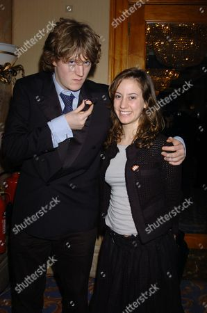 The Laurence Olivier Awards 2004 at the Park Lane Hilton London Uk Tracy Ullman Daughter Mabel with Her Boyfriend