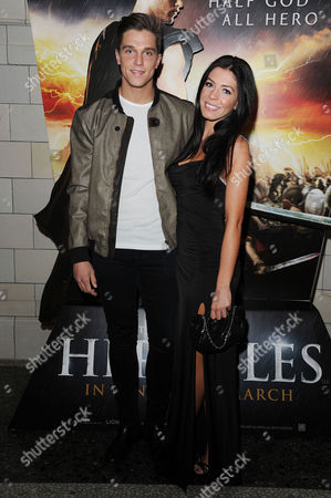 Stock Photo of the Legend of Hercules - Vip Screening at the Courthouse Hotel Dan Osborne and Cara Kilbey