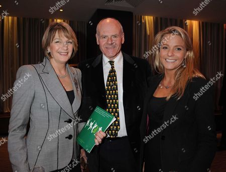 The Macmillan House of Lords and House of Commons Parliamentary Palace of Varieties Lord & Lady Colwyn with Thier Daughter Kirsty Hamilton-smith