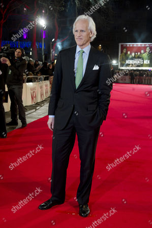 the Monuments Men Uk Premiere at the Odeon Leicester Square Robert Edsel Author