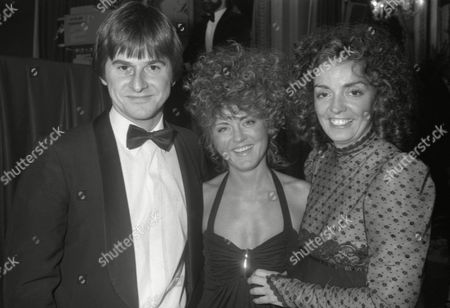 the S W E T Awards (society of West End Theatre Awards Now Known As the Oliviers) at the Cafe Royal Trevor Eve Jean Worth and Elizabeth Quinn