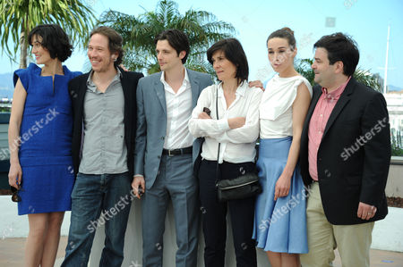 'Three Worlds' Photocall at Palais Des Festivals During the 65th Cannes Film Festival Clotilde Hesme Reda Kateb Raphael Perzonnaz Catherine Corsini Arta Dobroshi and Alban Aumard
