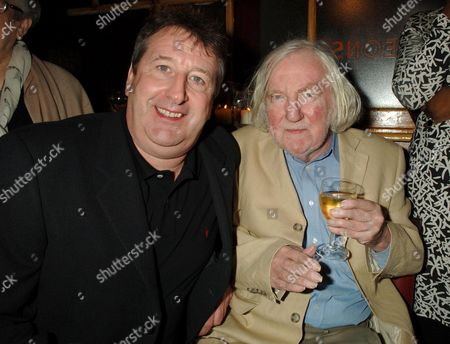 Afterparty For the Press Night of 'Jeffrey Bernard is Unwell' at the Coach and Horses Greek Street Richard Littlejohn and Keith Waterhouse
