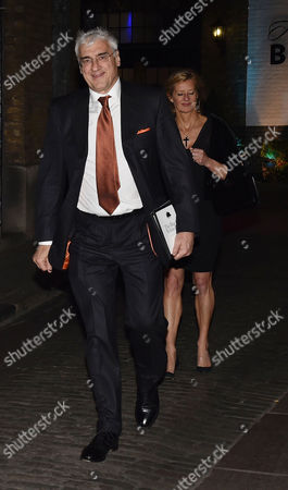 Conservative Black and White Ball at the Brewery Chiswell Street Sir Michael Hintze