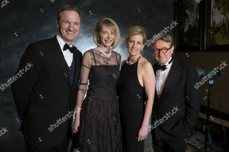 John and Marianne Swannell Host A Dinner On Behalf of the Transforming Lives Project at Leighton House Kensington John and His Wife Marianne Launched the Transforming Lives Project in Partnership with the National Autistic Society to Raise £100 000 to Change the Lives of Young Adults with Autism Mark Lever (ceo of Nas) Marianne Swannell Sophie the Countess of Wessex and John Swannell