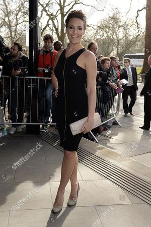 Tric Awards Arrivals at the Park Lane Hotel Isabel Webster