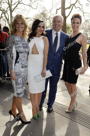 Stock Picture of Tric Awards Arrivals at the Park Lane Hotel Jacquie Beltrao; Nazaneen Ghaffar; Eamonn Holmes and Isabel Webster