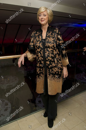 Stock Picture of Tricycle Theatre's Annual Fundraiser Drinks Reception at Quaglino's Mayfair Maria Aitken