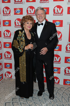 Tv Choice Awards 2013 at Thedorchester Hotel Barbara Knox and Philip Lowrie