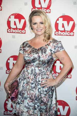 Tv Choice Awards 2014 at the Hilton Hotel Park Lane Rachel Leskovac