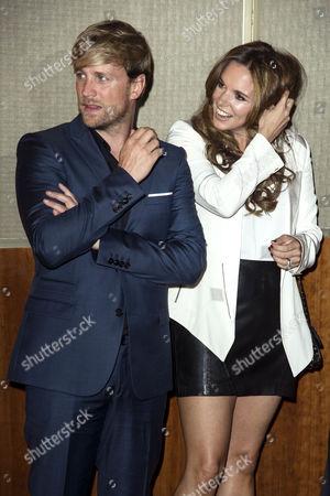 Tv Choice Awards 2014 at the Hilton Hotel Park Lane Jodi Albert with Her Husband Kian Egan