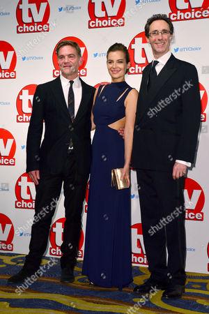 Tv Choice Awards 2015 at the Park Lane Hilton John Michie and Guy Henry