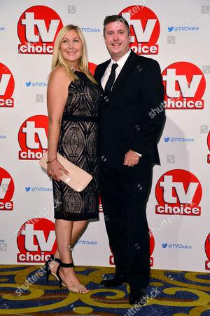 Tv Choice Awards 2015 at the Park Lane Hilton David Croft