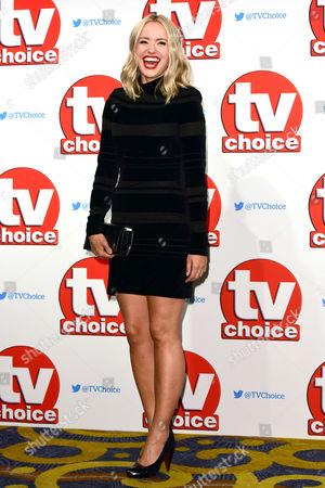 Tv Choice Awards 2015 at the Park Lane Hilton Sammy Winward