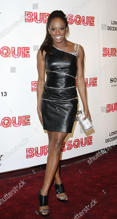 Editorial photo of Uk Gala Premiere of 'Burlesque' at the Empire Leicester Square - 13 Dec 2010