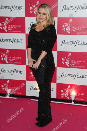 Uk Lingerie Awards 2013 at the Freemasons Hall Great Queen Street Millie Clode