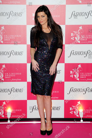 Uk Lingerie Awards 2013 at the Freemasons Hall Great Queen Street Louise Cliffe