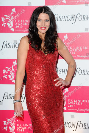 Uk Lingerie Awards 2013 at the Freemasons Hall Great Queen Street Sophia Sassoon
