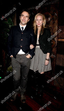 Uk Premiere Afterparty For 'Me and Orson Welles' at Kanaloa Fleet Street Ben Chaplin and Megan Dodds