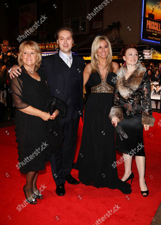 Uk Premiere of 'Me and Orson Welles' at the Vue Leicester Square Christian Mckay with His Sister Karen Mckay and Wife