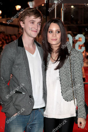 Uk Premiere of 'Remember Me' at the Odeon Leicester Square Tom Felton and Jade Gordon