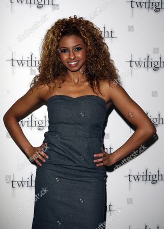 Stock Image of Uk Premiere of 'Twilight' at the Vue Leicester Square Britannia High - Rana Roy
