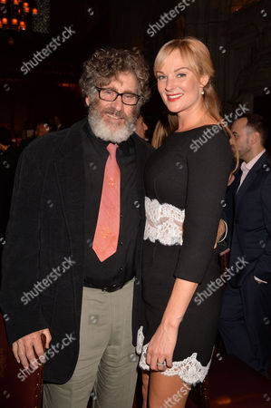 Uk Theatre Awards at Guildhall City of London Paul Michael Glaser and Katherine Kingsley