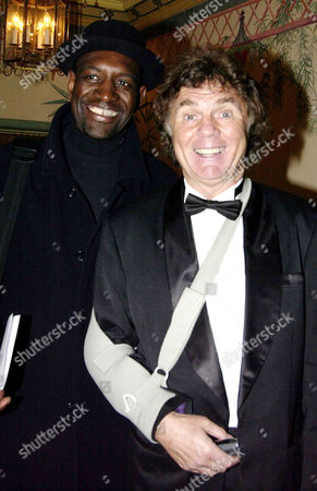 Variety Club 'The Jokers Awards 2003' Reception at the Dorchester Hotel Park Lane Ian Irving and Stan Boardman
