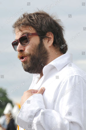 Stock Picture of Veuve Clicquot Gold Cup Final Polo at Cowdray Park West Sussex Simon Konecki Boyfriend of Adele