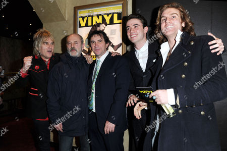 'Vinyl' London Gala Screening at the Empire Leicester Square Mike Peters Keith Allen Phil Daniels Jamie Blackley and Miguel Demelo