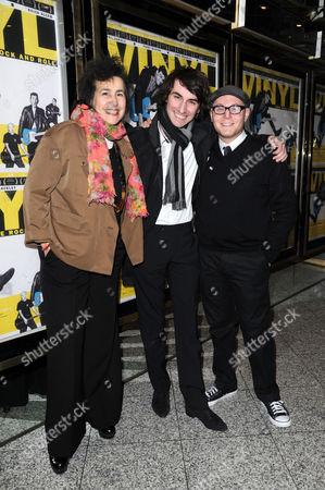 'Vinyl' London Gala Screening at the Empire Leicester Square Sara Sugarman and Joel Sugarman with Producer Steven Berger