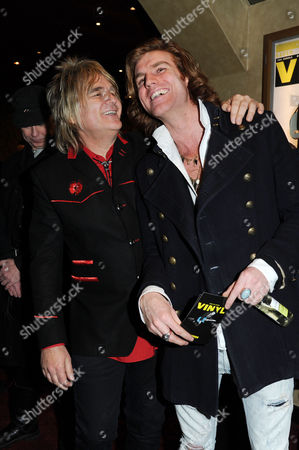 'Vinyl' London Gala Screening at the Empire Leicester Square Mike Peters and Miguel Demelo
