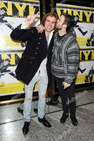 'Vinyl' London Gala Screening at the Empire Leicester Square the Tribes - Miguel Demelo and Dan White