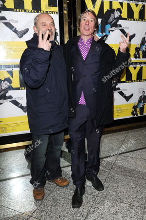 'Vinyl' London Gala Screening at the Empire Leicester Square Keith Allen and Steve Diggle