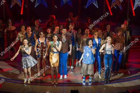 Editorial photo of Viva Forever Curtain Call - 11 Dec 2012