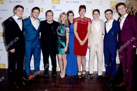 Walking On Sunshine World Premiere Afterparty at Floridita Wardour Street Collabro Winners of Britain's Got Talent with Ashleigh Butler and Charlotte Jaconelli