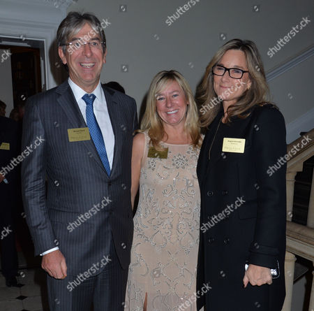 Walpole Awards For Excellence 2013 at the Banqueting House Whitehall Westminster London Michael Ward & Angela Ahrendts
