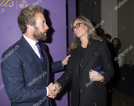 Walpole Awards For Excellence 2013 at the Banqueting House Whitehall Westminster London Ben Fogle & Angela Ahrendts
